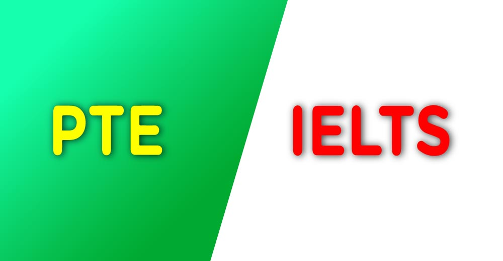 Comparison between PTE Academic and IELTS